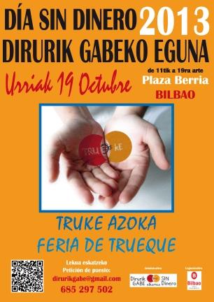 5. DIRURIK GABEKO EGUNA / 5º DÍA SIN DINERO
